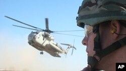 아프간 주재 나토군의 헬리콥터 (자료사진)