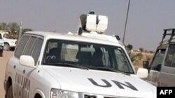 Lực lượng hỗn hợp Liên hiệp quốc-Liên hiệp Phi châu (UNAMID) tuần tra ở Darfur