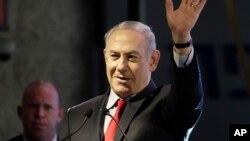 Benjamin Netanyahu, Ashkelon, Israël, le 20 février 2018.