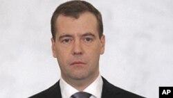 俄羅斯總理梅德韋杰夫 (資料照片)