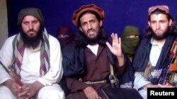 Beberapa pemimpin Taliban-Pakistan di kawasan kesukuan Mohmand, Pakistan (foto: dok).