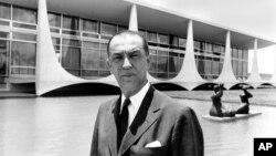 1976년에 사망한 주셀리노 쿠비체크 브라질 전 대통령. (자료사진)