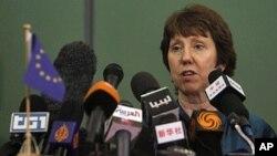 Kepala Kebijakan Luar Negeri Uni Eropa Catherine Ashton (Foto: dok). Dalam pertemuan Uni Eropa di Brussels, para menlu Uni Eropa menyepakati akan mencabut sanksi atas Zimbabwe pasca referendum.