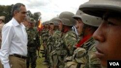 El ministro de defensa de Colombia, Rodrigo Rivera dijo que el próximo en caer será el propio Alfonso Cano, jefe máximo de las FARC.