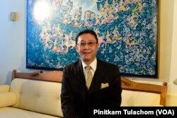 Manasvi Srisodapol, Thai Ambassador to US