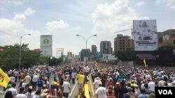 Protest opozicije u Venecueli, 19. aprila 2017.