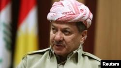 Presiden wilayah otonomi Kurdi Irak Masoud Barzani menyerukan referendum bagi kemerdekaan (foto: dok).