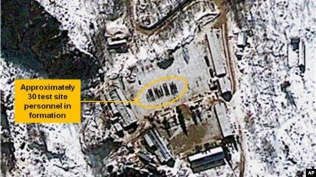 Foto satelit menunjukkan fasilitas nuklir Korea Utara Punggye-ri telah siap untuk melakukan uji coba nuklir (foto: 4 Januari 2013).