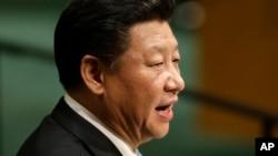 中国领导人习近平(2015年9月28日资料照片)