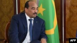 Le président mauritanien Mohamed Ould Abdel Aziz lors du sommet du G5 à Bamako, le 2 juillet 2017.