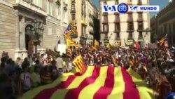 Manchetes Mundo 26 Outubro 2017: Protestos por-independência da Catalunha
