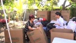 Inmigrantes de Estados Unidos envían ayuda humanitaria a Perú