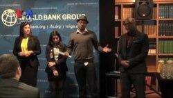 نشست رهبران موفق جوان در بانک جهانی