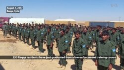 Raqqa Residents Graduate from Security Training to Hold City After IS