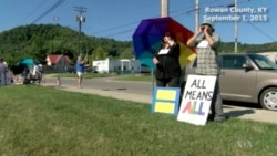 Kentucky Clerk Defies US Court, Won't Issue Gay Marriage License