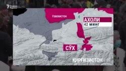 Bishkek: Qirg'iz-o'zbek chegarasida muammo qolmadi