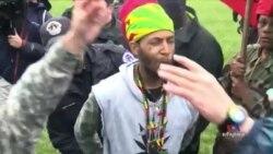 Pro-Marijuana Activists Stage 'Smoke In' at U.S. Capitol Demanding Change in Drug Laws