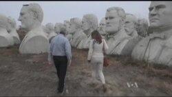 43 велетенські статуї президентів США знайшлись на фермі біля Вашингтона. Відео