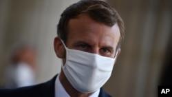 Tổng thống Pháp Emmanuel Macron hôm 4/9/2020 (ảnh tư liệu)