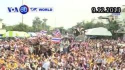 Lãnh đạo biểu tình Thái tuyên bố kế hoạch thành lập chính phủ song song (VOA60)