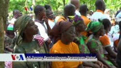 Sapa Dunia VOA: AS Dorong Pemberdayaan Perempuan Global
