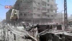 شدیدترین بمباران هوایی غیر نظامیان در سوریه