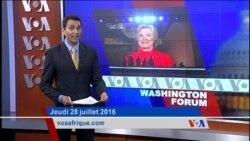 Washington Forum jeudi 28 juillet : la Convention nationale du parti démocrate