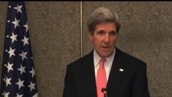 2013-03-03 美國之音視頻新聞: 克里抵達埃及與政府官員及反對派會面