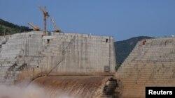 Proyek mega bendungan di Guba Woreda, kawasan Benishangul Gumuz, Ethiopia, 26 September 2019. (Foto: dok0.