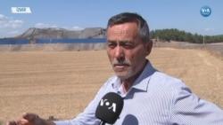 Foça'da Cüruf Tepeleri Giderek Büyüyor