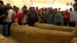 Misir arxeoloqları 3 000 illik 30 tabut aşkar edib