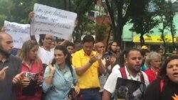 Marcha por la liberación de diputado Juan Requesens