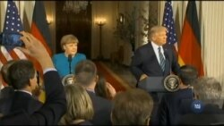 Час-Time: Трамп та Меркель висловились за мирне врегулювання конфлікту в Україні