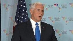 Pence lidera defensa de acciones de EE.UU. en Siria