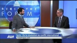 Washington Forum du 12 avril 2018 : Syrie, les menaces de frappes