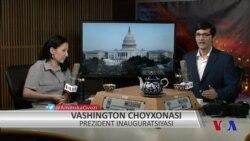 Vashington choyxonasi: Donald Tramp inauguratsiyasi