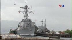 TQ điều tàu tiếp tế đến Hoàng Sa, Philippines trang bị phi đạn cho tàu chiến