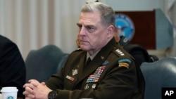 Arhiv - Načelnik združenog Generalštaba američke vojske general Mark Milley.