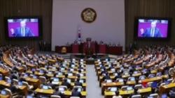 川普在南韓國會演講 稱以實力與北韓謀和平