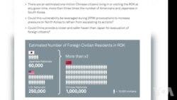 沙盘推演:朝鲜若宣战 在韩百万中国人或能促和
