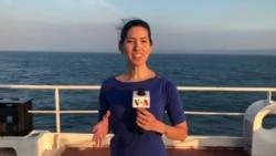 El barco hospital USNS Comfort atiende a cientos de pacientes en Ecuador