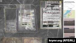 Військова база зберігання поблизу селища Новоозерне