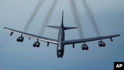 រូបឯកសារ៖ យន្តហោះទម្លាក់គ្រាប់បែក B-52H។