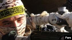 تصویر خبرگزاری فارس از یک عضو فاطمیون در سوریه