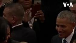ԱՌԱՆՑ ՄԵԿՆԱԲԱՆՈՒԹՅԱՆ. ԱՄՆ-ի ներկա և նախկին նախագահները Ջորջ Բուշ ավագի վերջին հրաժեշտի արարողությանը