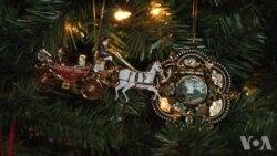 历史的风华:白宫官方耶诞吊饰(1)