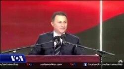 Maqedoni, retorika nacionaliste në fushatë