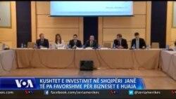 Kushte të pafavorshme biznesi në Shqipëri