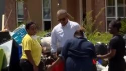 奧巴馬前往路易斯安那州視察災情
