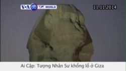 Tượng Nhân Sư khổng lồ ở Ai Cập mở cửa trở lại (VOA60)